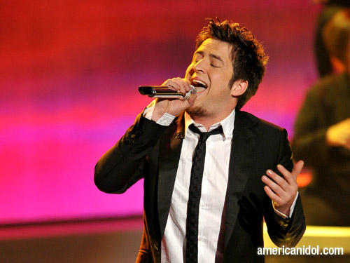 Lee DeWyze on American Idol