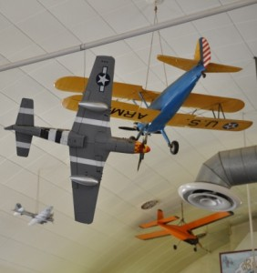 World War II Model Ceiling Airplanes