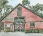 Painter Sue Daly's Nortons General Store in Barrington, Illinois