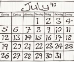 Calendar of Events for July, 2010