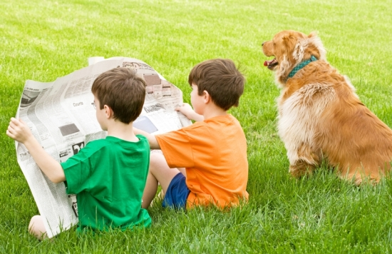 Barrington Area Library's Read to Rover Program