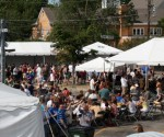 Beer tasting and live music at the Barrington Brew Fest