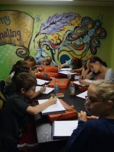 Writing and Journaling at TT Patton