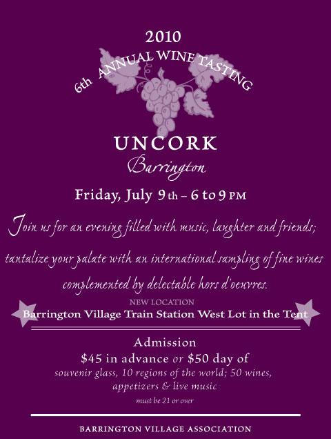 2010 Uncork Barrington Wine Tasting