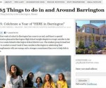 365Barrington.com Before the Redesign