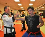Breaking Boards at Tiger Martial Arts