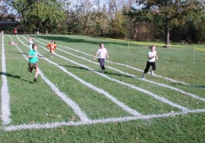 Kids 100 Yard Dashes and the Trick or Treat Trot