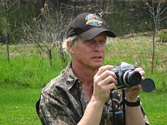Barrington Photographer Robert McGinley at the Barrington Area Library