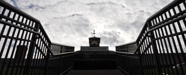 Barrington Metra Station Weathervane