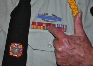 Barrington Veteran, Burnell Wollar on Veteran's Day