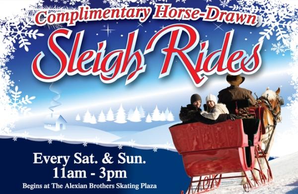 Sleigh Rides at the South Barrington Arboretum