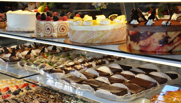 Pastry Selection at Ambrosia Euro American Patisserie