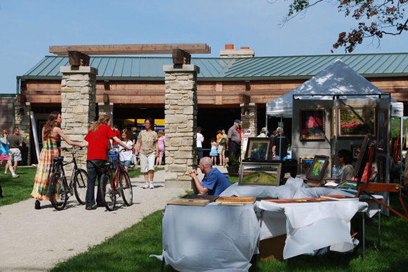 Third Annual Art in the Park in Barrington, Illinois