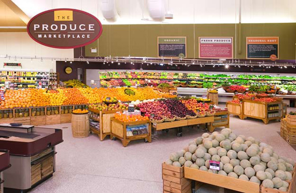 Produce Department at Heinen's Grocery Store