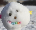 Post - Snowman Candy Head