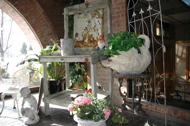 Antique and Garden Show Sale at the Barrington Ice House