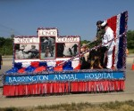 4th of July Parade Grand Prize Winner - Barrington Animal Hospital