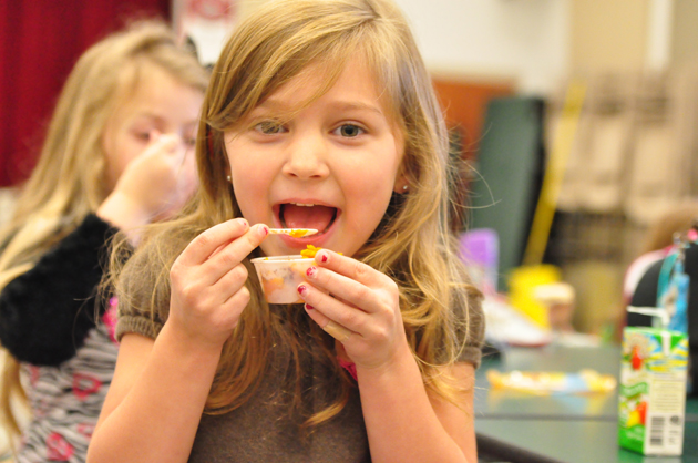"Barrington 220 ""Tasty Tuesday"" Healthy Eating Initiative - Courtesy of Barrington School District 220"