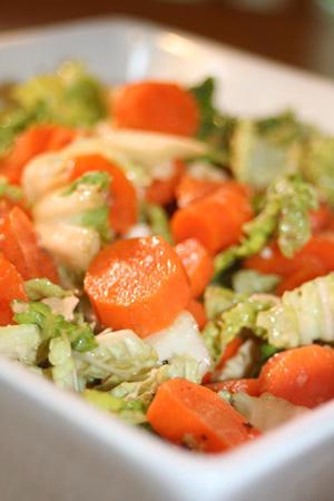 Post 300 - Carrot & Napa Cabbage Salad