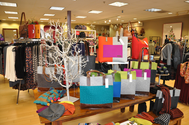 Post - Holiday Displays at Notice in Barrington