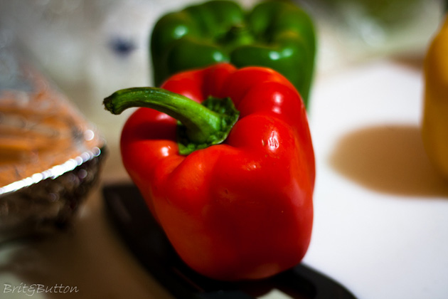 Post - Red and Green Peppers