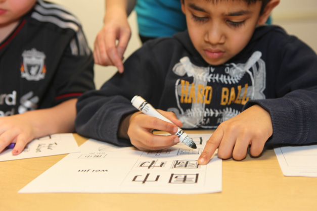 Language Stars Student in Barrington - Photographed by Julie Linnekin