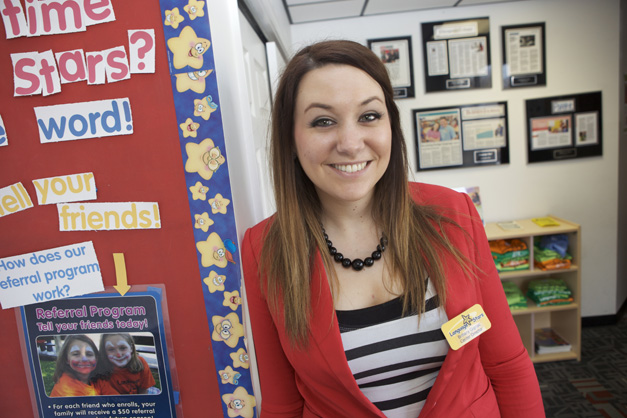 Director of Language Stars in Barrington, Brittany Gignac - Photographed by Julie Linnekin