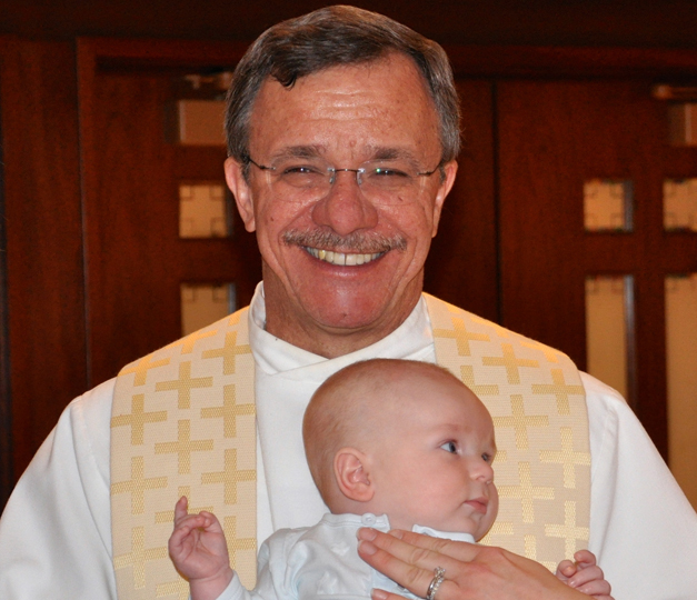 Billy Chepell's Baptism at St. Anne's Catholic Church in Barrington