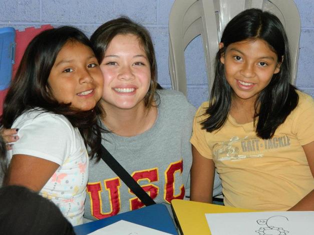 Courtney Quigley in Guatemala