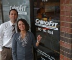Dr. Dave Crosson & Dr. Jennine Morgan at ChiroFit in Barrington - Photographed by Julie Linnekin