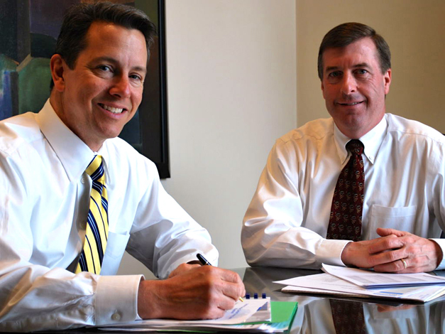 Ed Scoby, CFP®, and David Andrews, MBA, CFP®, at Barrington Wealth Management