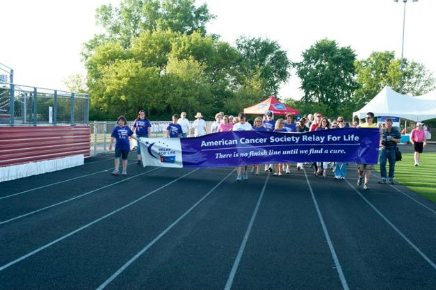 Barrington Relay for Life  2012 - Facebook.com/RFLBarrington