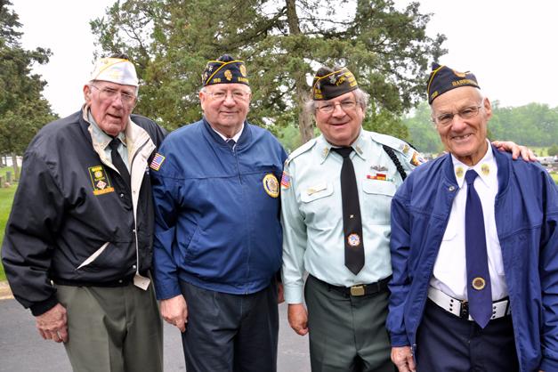 Barrington Veterans on Memorial Day