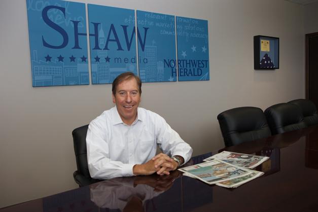 Shaw Media President, John Rung - Photographed by Julie Linnekin