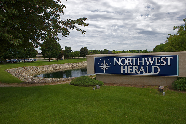Barrington Life Newsroom is Located at Shaw Media's Northwest Herald Headquarters in Crystal Lake - Photographed by Julie Linnekin