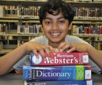 Pranav Sivakumar at the Barrington Area Library