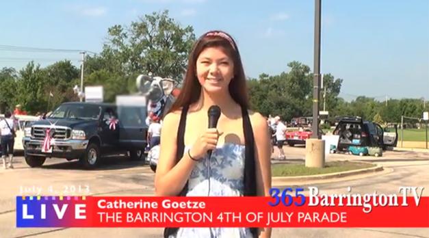 365BarringtonTV Covers the Barrington 4th of July Parade, 2013