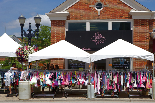 Barrington Sidewalk Days Sales - Photographed by Julie Linnekin
