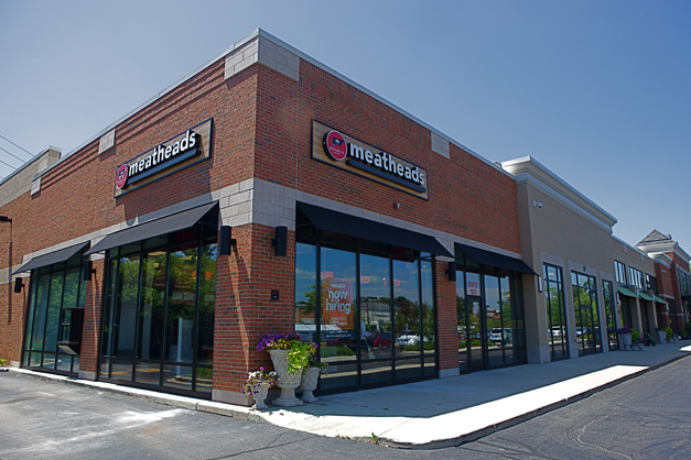 Meatheads Burgers & Fries - 500 N. Hough Street in Barrington, Illinois