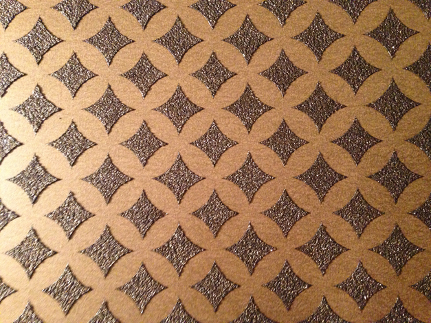 Bella Muri All-Over Stencil Pattern - Photo Provided by Artist & Owner, Melissa Loutos