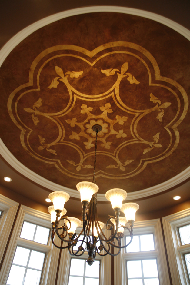 Bella Muri Ceiling Mural - Photo Provided by Artist & Owner, Melissa Loutos