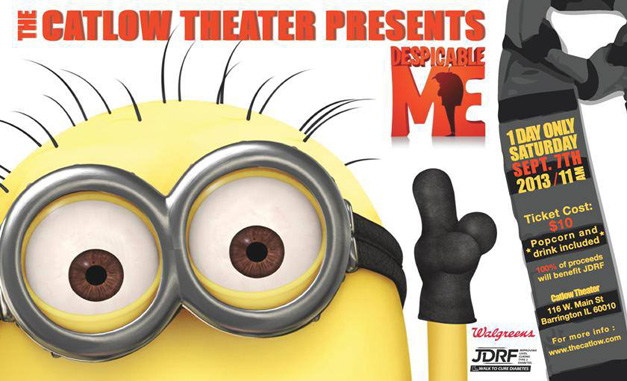 Post - Despicable Me at Catlow Theater
