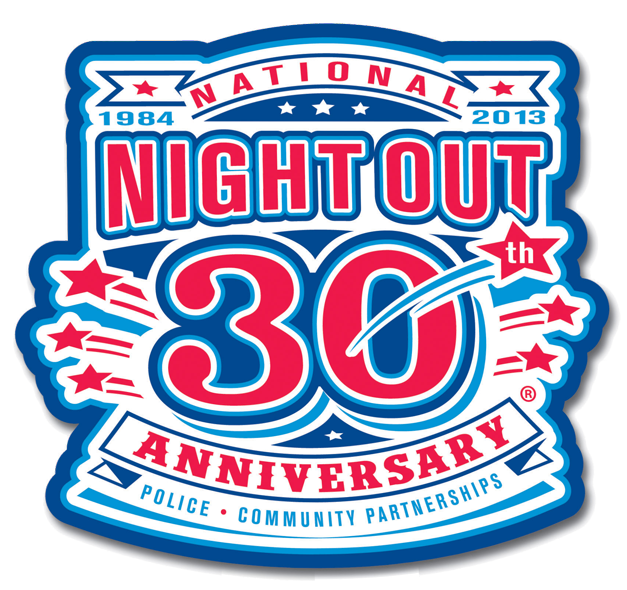National Night Out in Barrington - Thursday, August 8th, 2013 from 6:30 to 8:30 p.m.