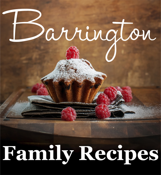 Barrington Family Recipes Contest 2013