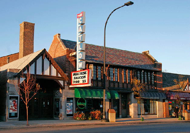 The Catlow Theater - 116 W. Main Street in Barrington, Illinois