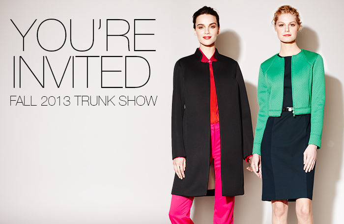W by Worth Trunk Show Banner 1
