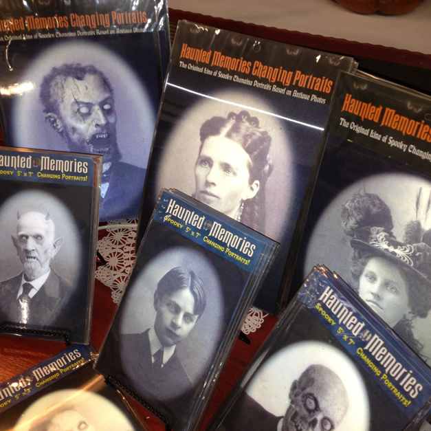 Spooky Changing Portraits at Norton's USA in Barrington