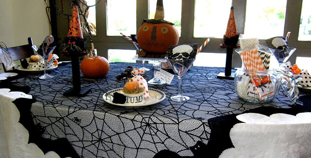 Halloween Tablescape at Norton's USA