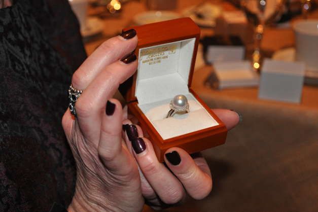 Long & Co. Pearl Ring Impact Raffle Prize