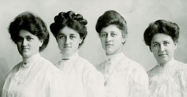 The Barrington Women's Cllub, circa 1910 - Photo Credit: Tim Dunn